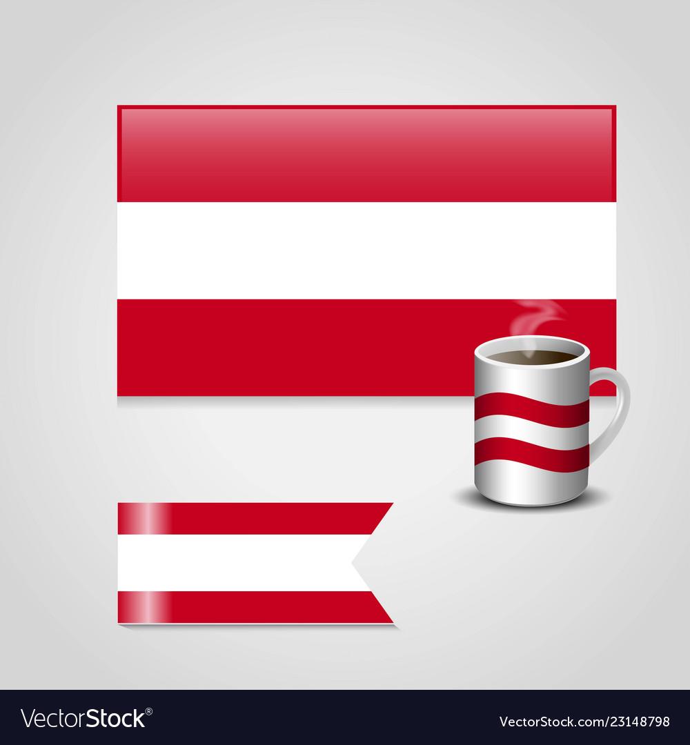 Austria flag design