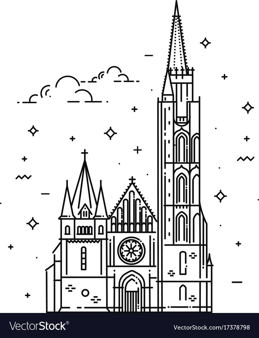 Churches hungary matthias church