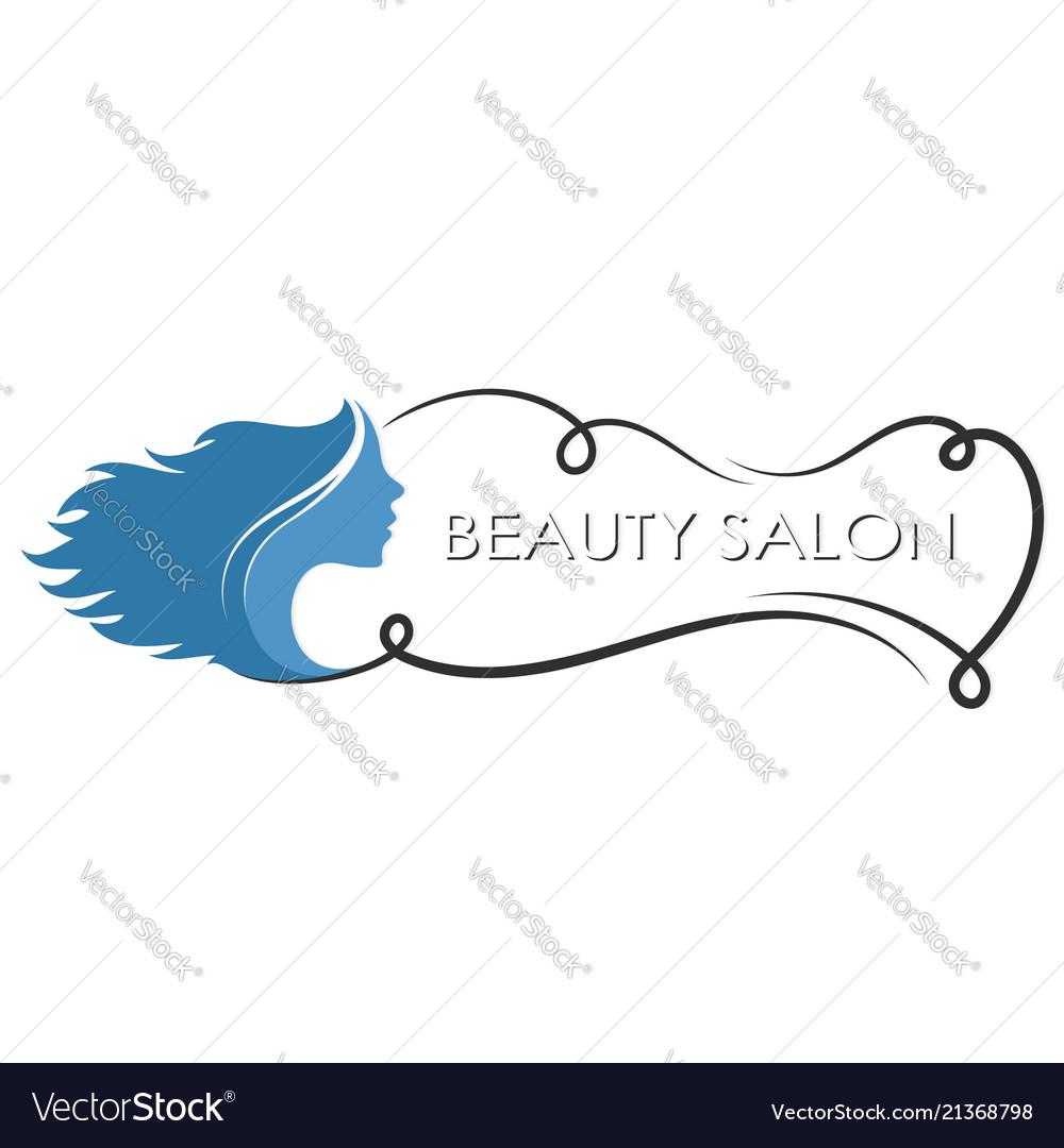 Symbol Of Beauty Salon Royalty Free Vector Image