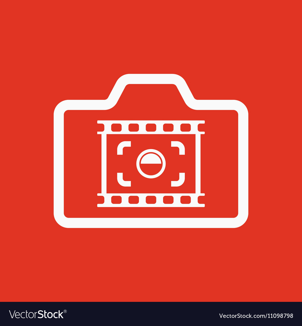 The camera icon Photo and photographer film