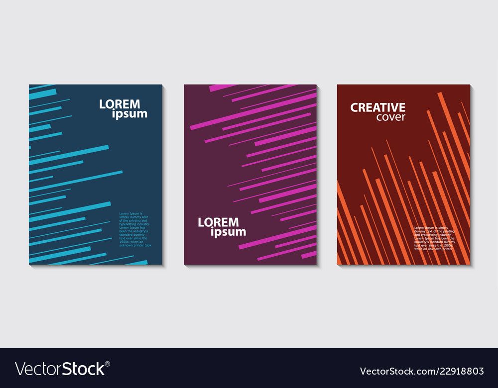Chaotic lines abstract background minimal covers