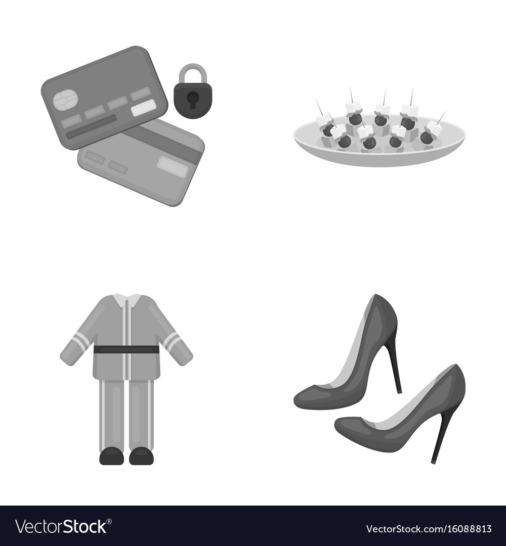 Bank trade business and other monochrome icon in vector image