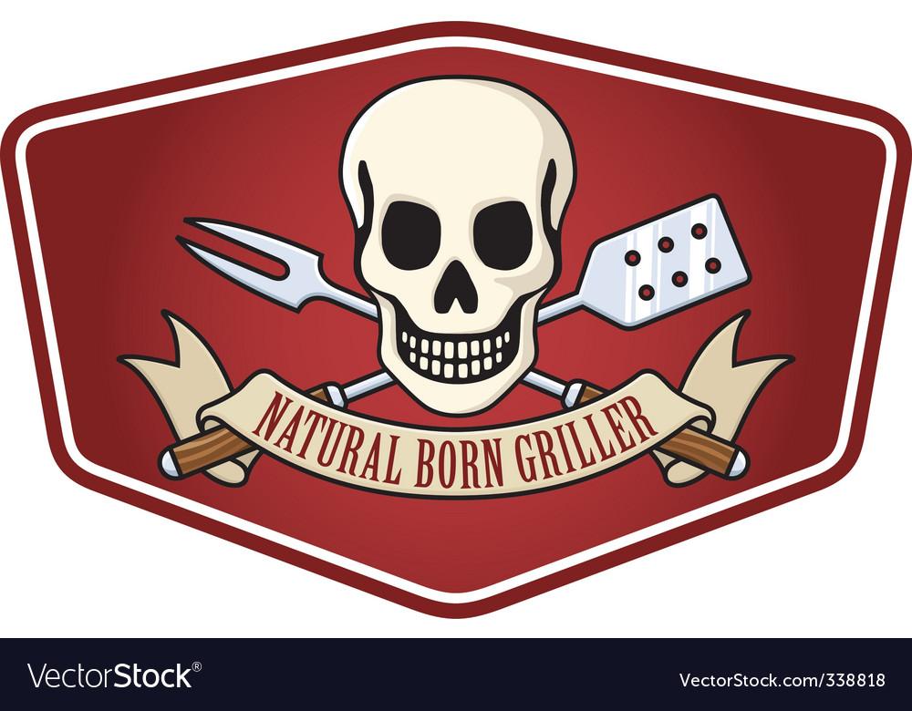 Pirate BBQ emblem