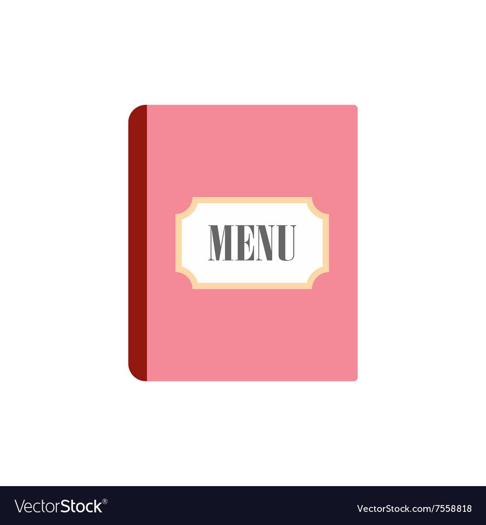 Restaurant menu flat icon