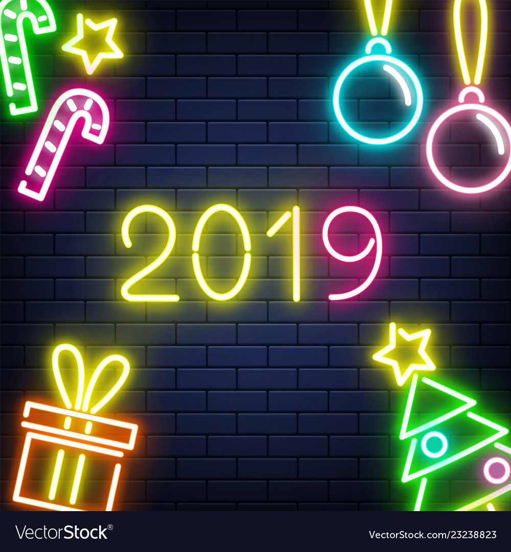2019 new year banner with