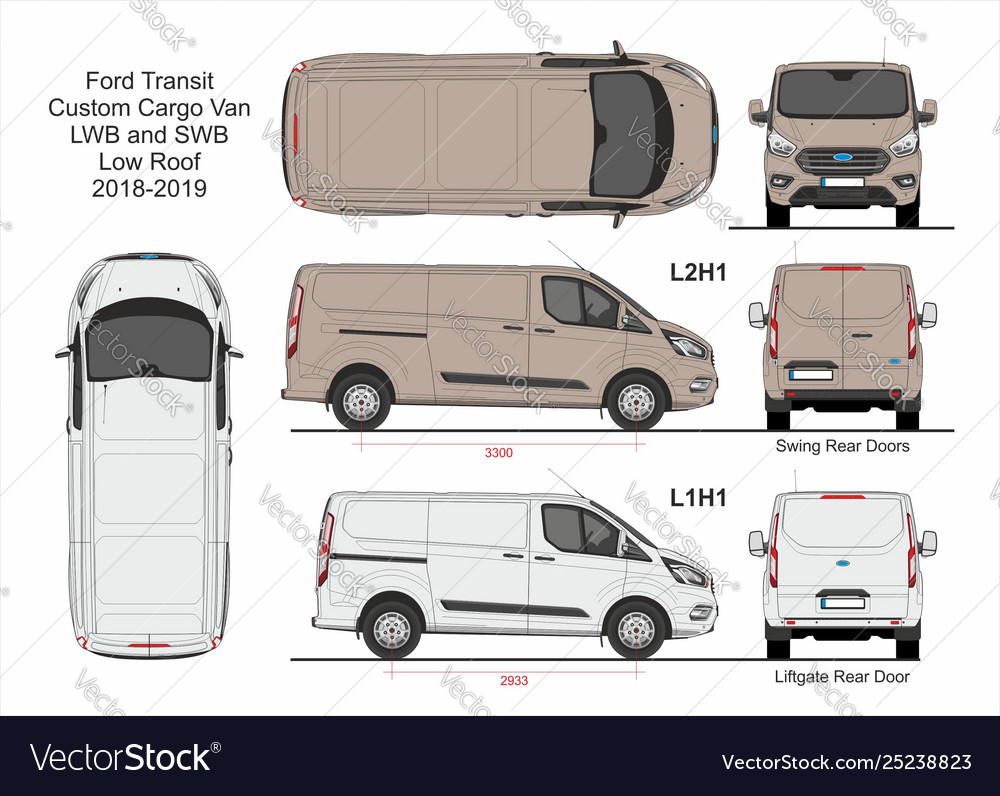 Ford Transit Custom >> Ford Transit Custom Cargo Van L1h1 And L2h1 2018