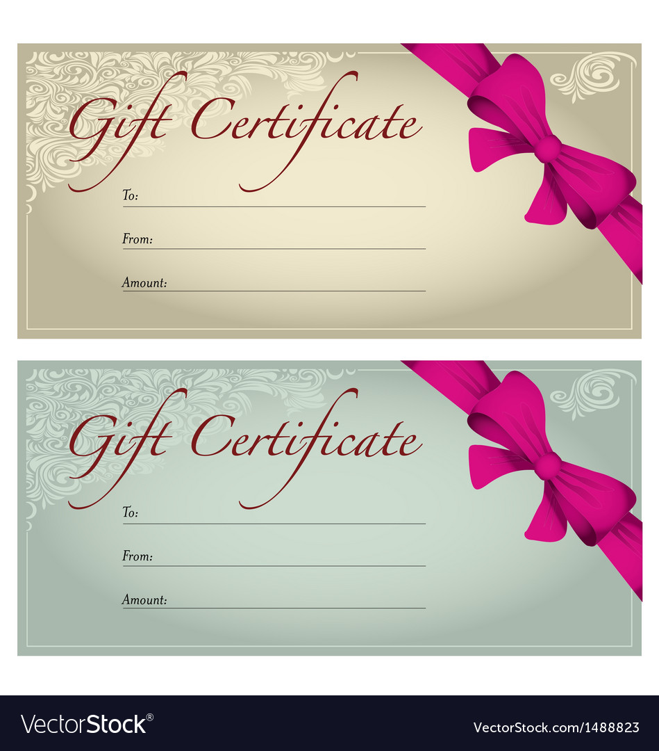 Gift voucher royalty free vector image vectorstock gift voucher vector image negle Images