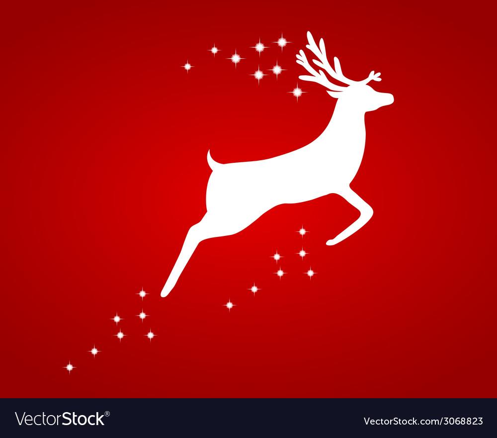 Reindeer with stars