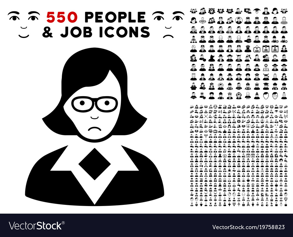 Teacher lady icon with bonus