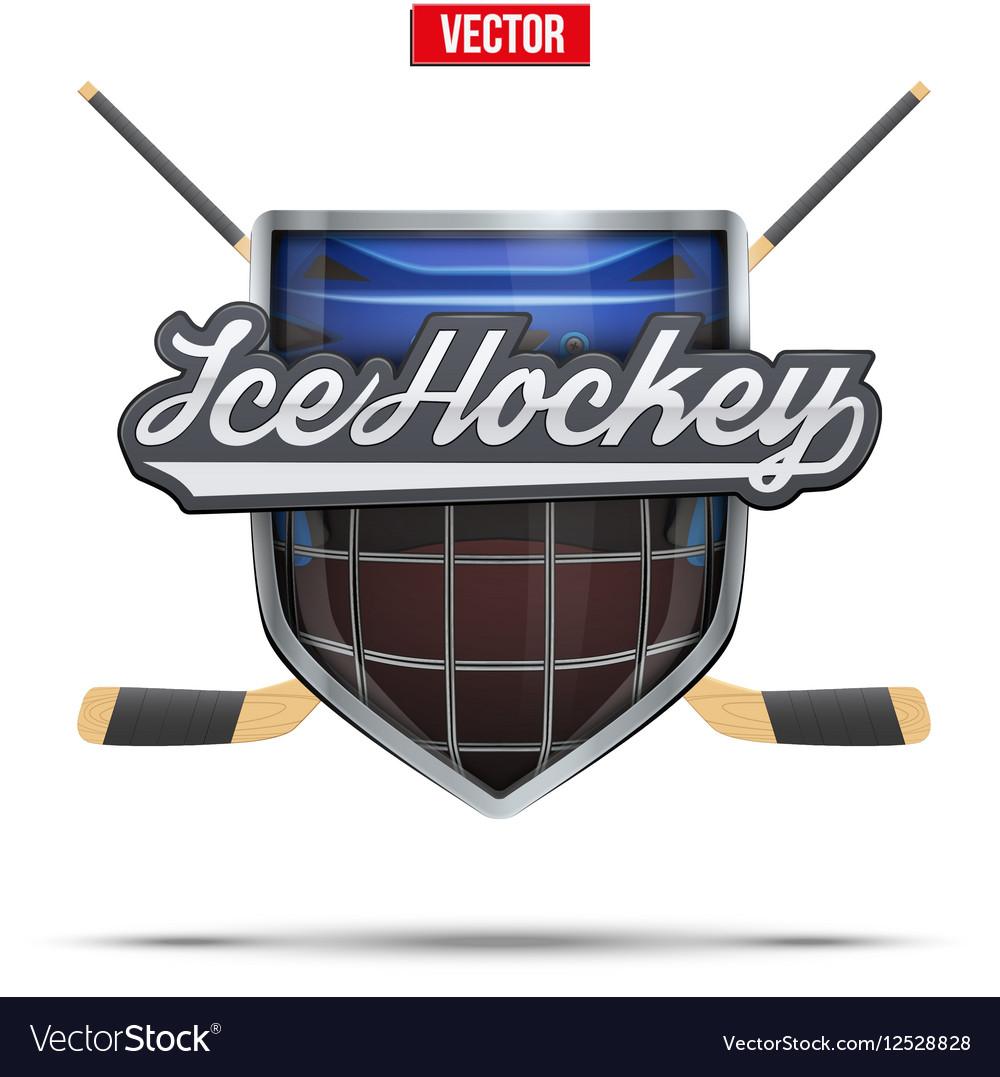 Ice hockey symbol Design elements