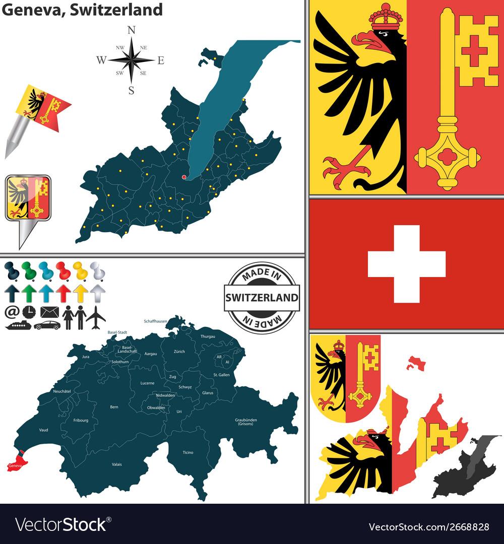 Map of Geneva