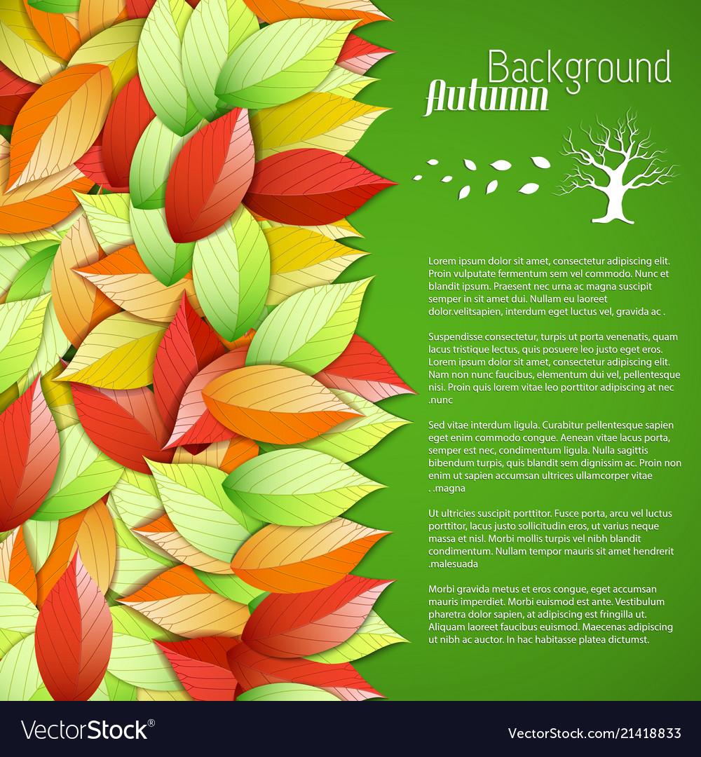 Bright seasonal floral poster