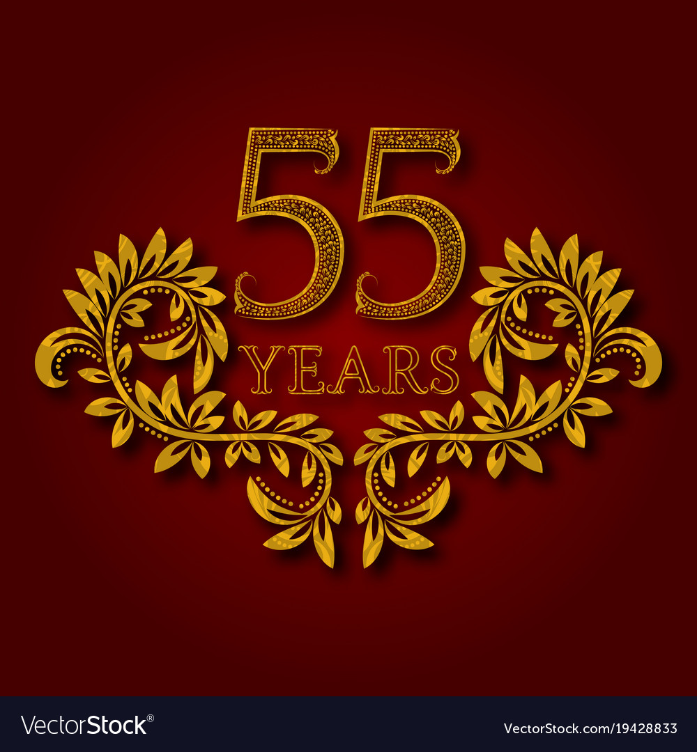 Fifty five years anniversary celebration