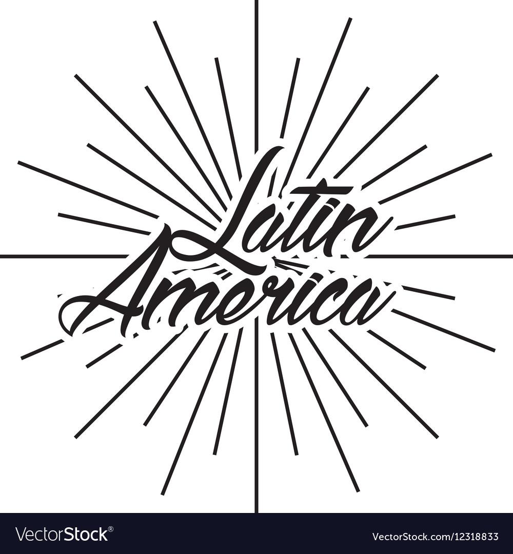 Latin america card