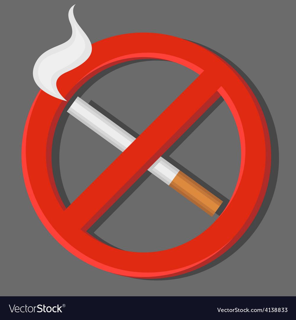 no smoking royalty free vector image vectorstock rh vectorstock com no smoking vector icon no smoking vector symbol