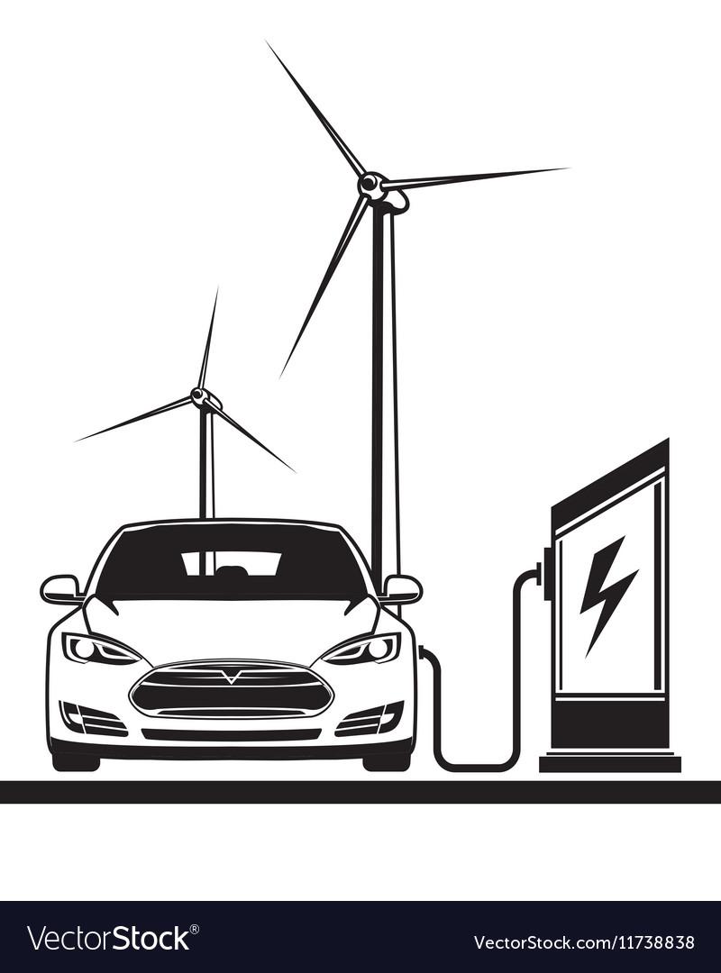 Electric car filling station