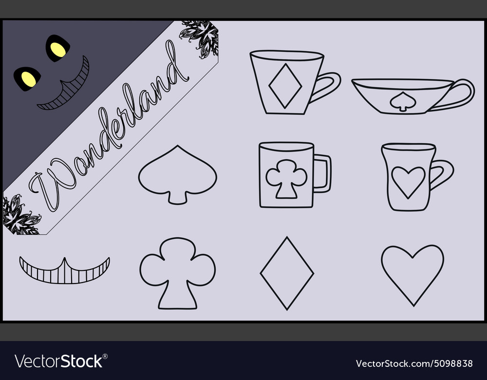 Set of Flat Line Isolated Objects from Alice in