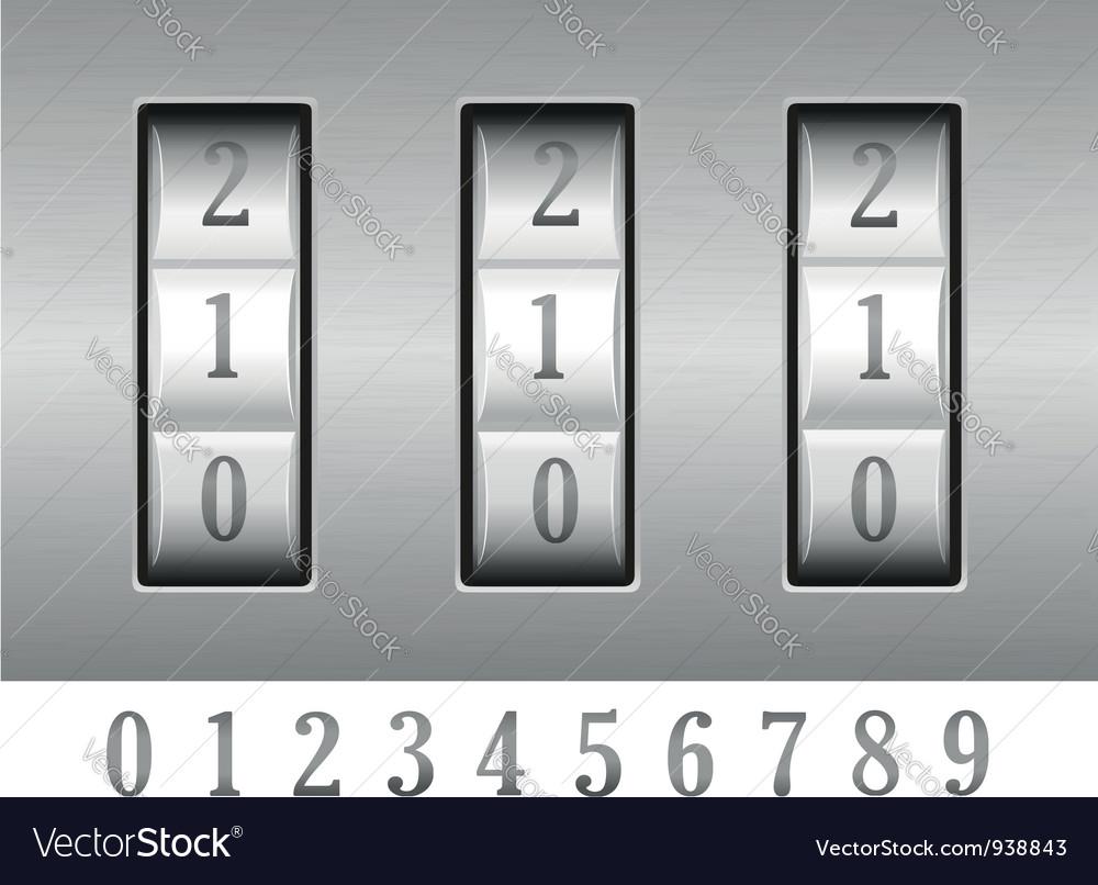 Combination lock 02