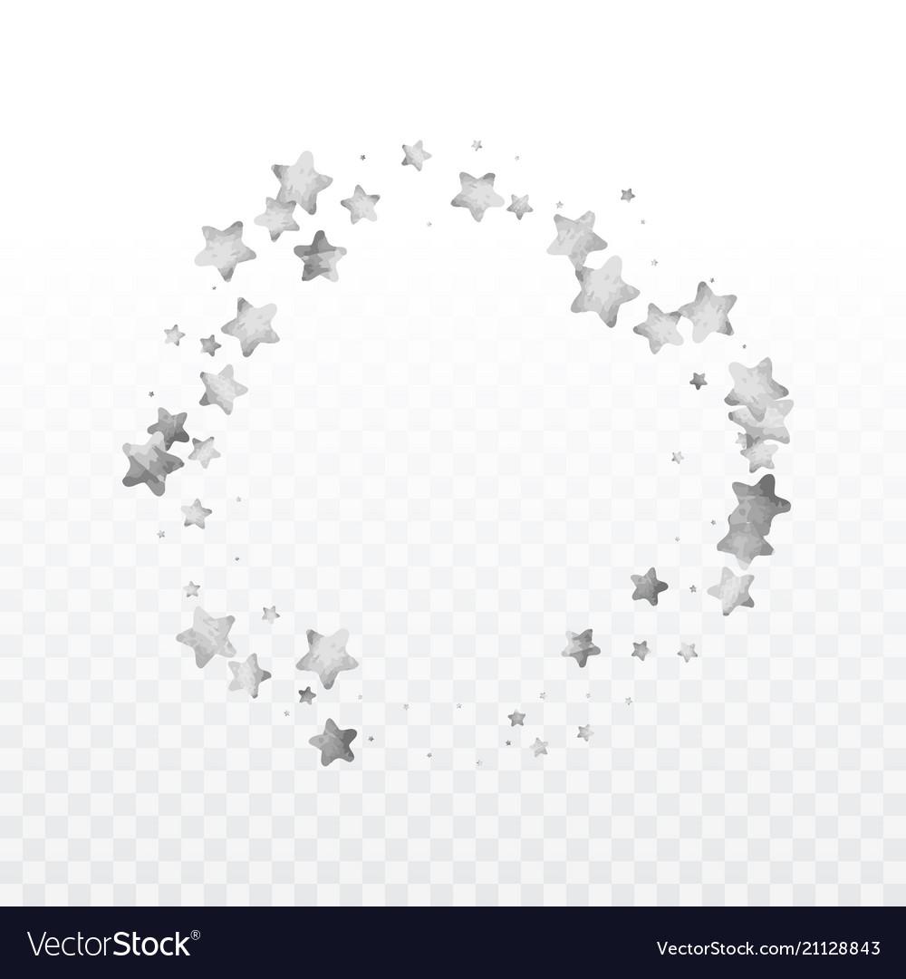 Round gold confetti
