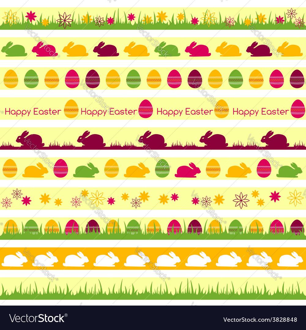 Easter borders