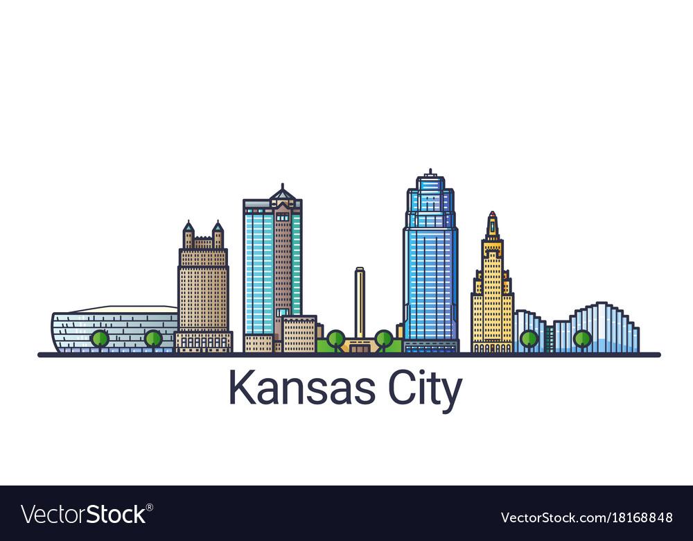 Flat line kansas city banner