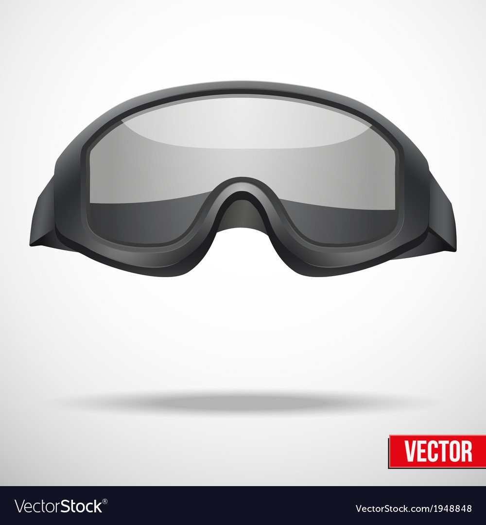 Military black goggles