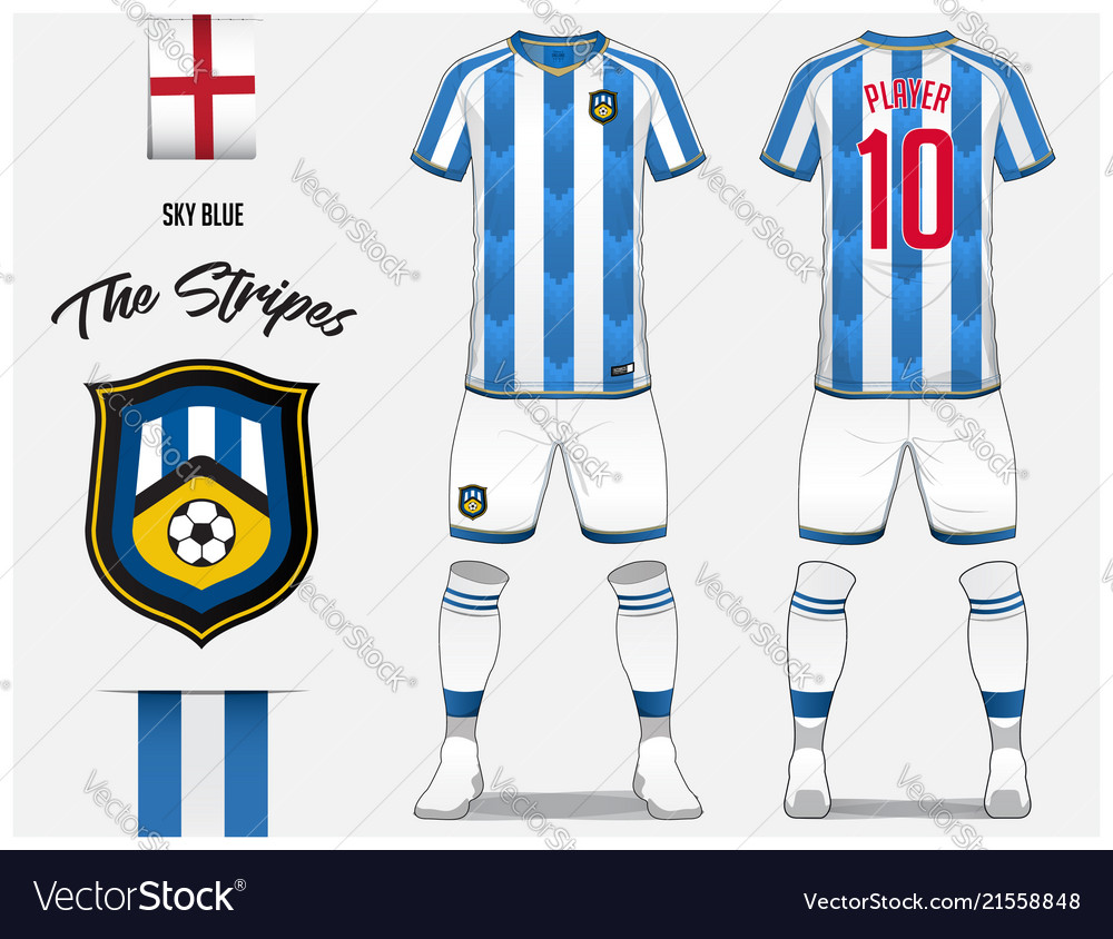 Soccer jersey or football kit template Royalty Free Vector f4d5636de