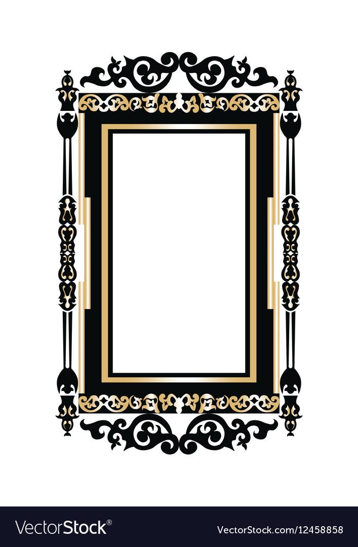 Baroque Golden Rococo frame decor