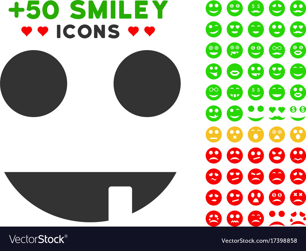 Witch smile icon with bonus avatar clipart