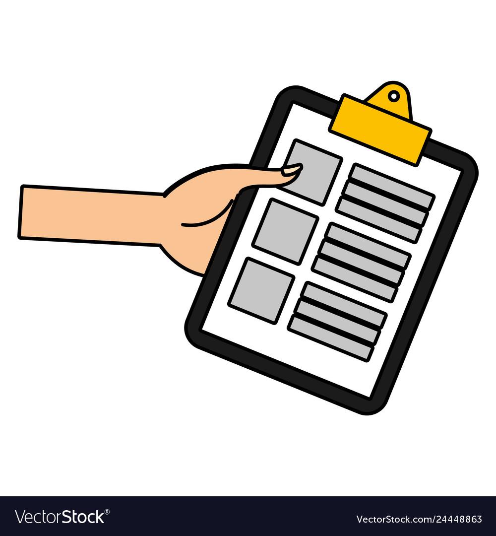 Documents folder cartoon