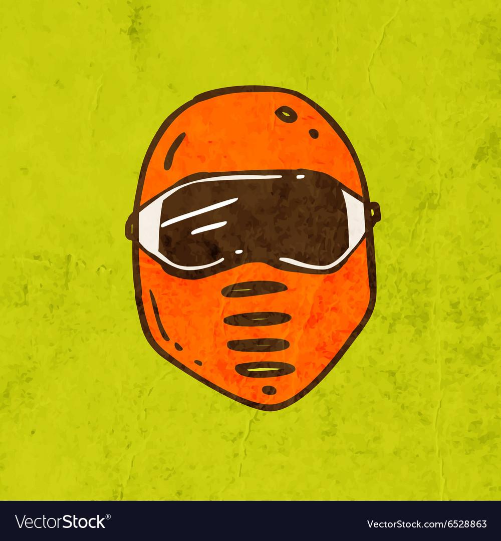 Safety Mask Cartoon