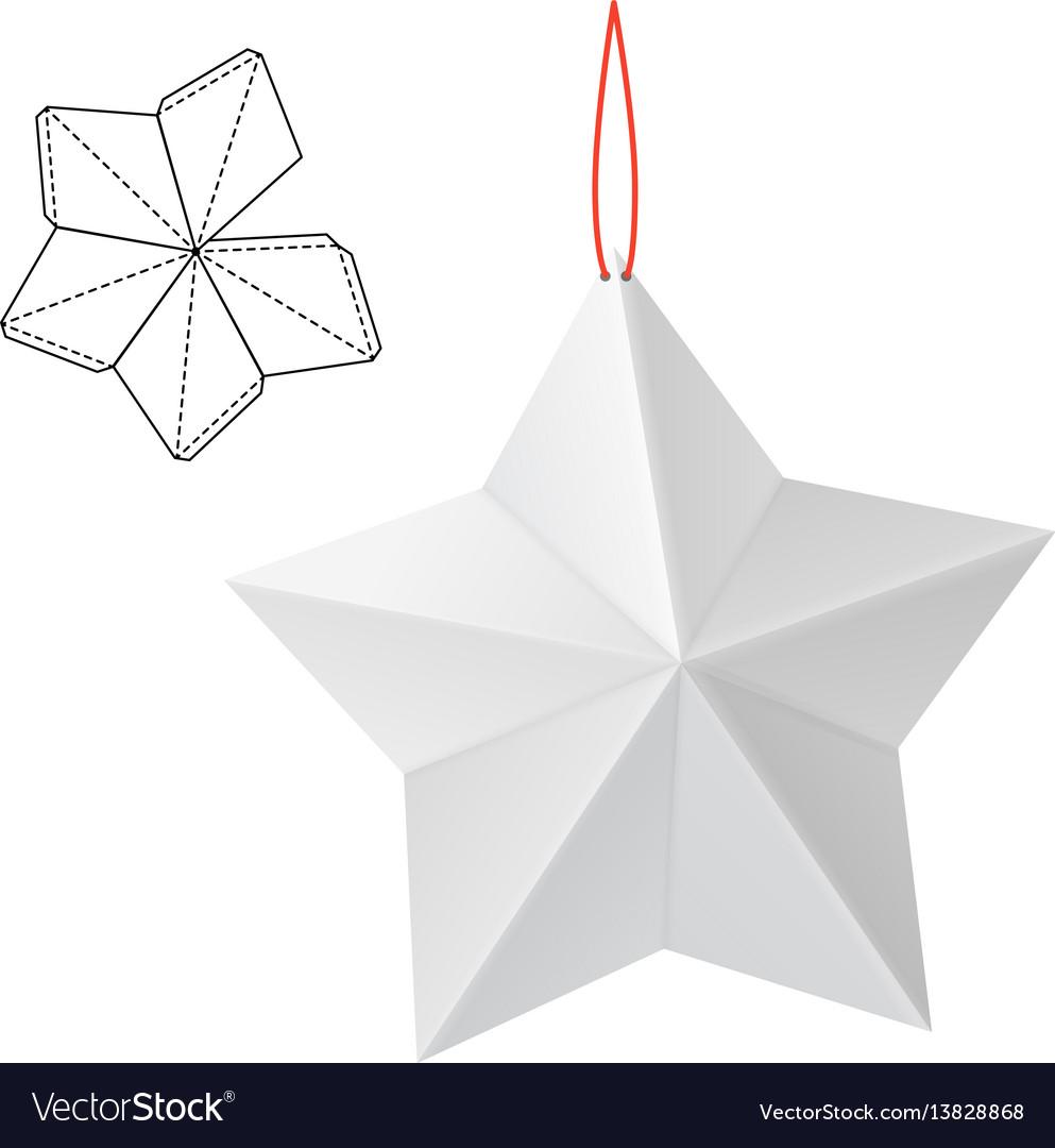 Paper star gift