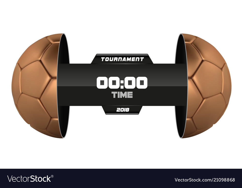 Soccer league with team competition and