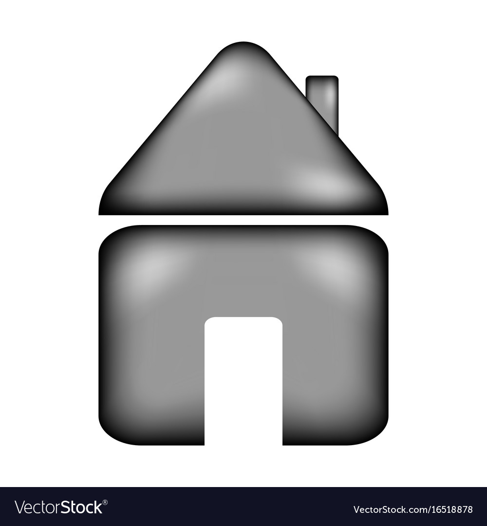 Home sign icon vector image