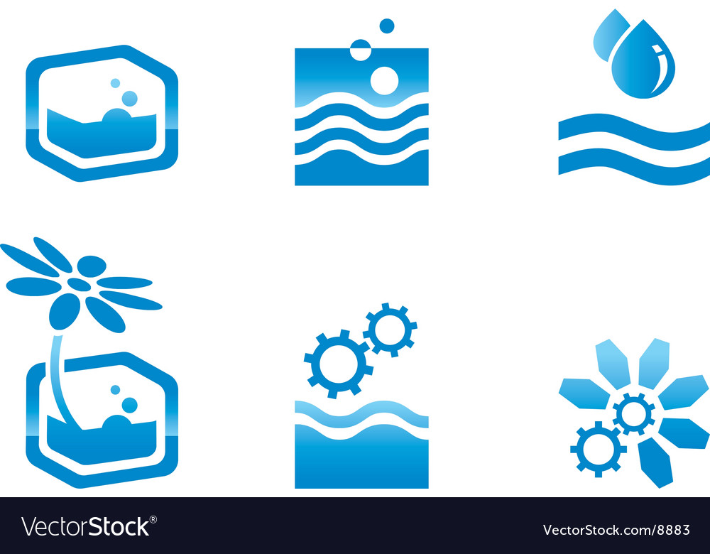 Environmental icons vector image