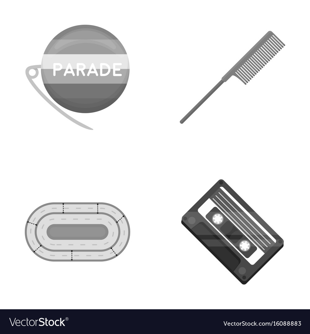 Retro business sport and other monochrome icon