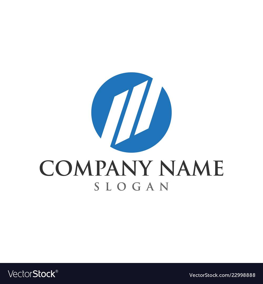 Business logo graphic design template
