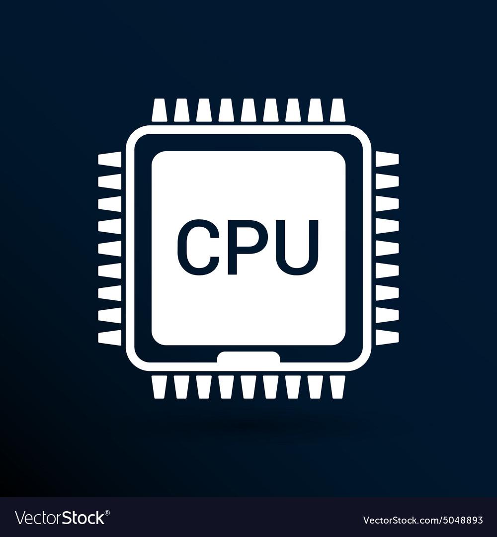 Circuit board icon Technology scheme square symbol