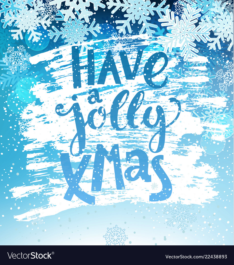 Have a jolly xmas geeting card