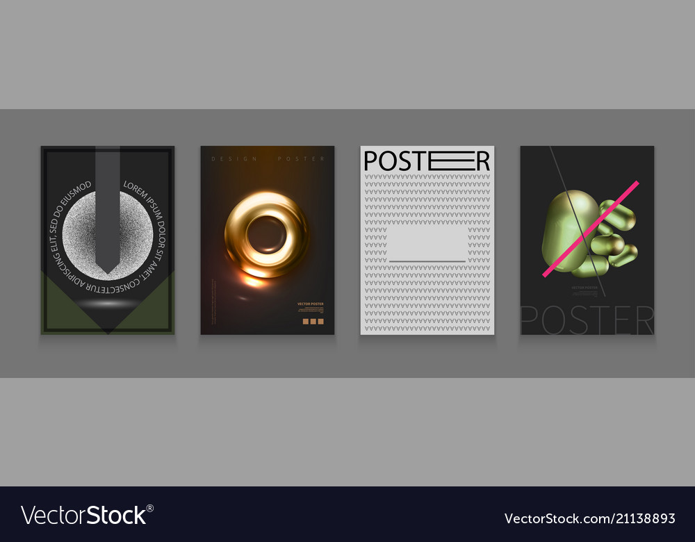 Stock set cover templates with