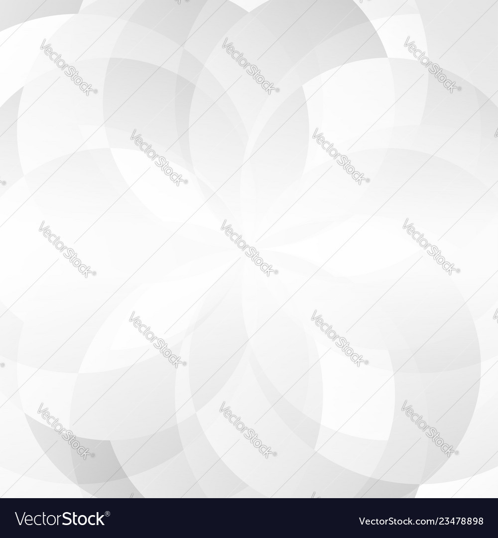 Abstract gray geometric overlap on white
