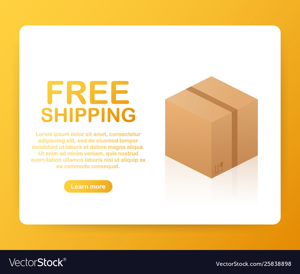 Free shipping cardboard box businesses online