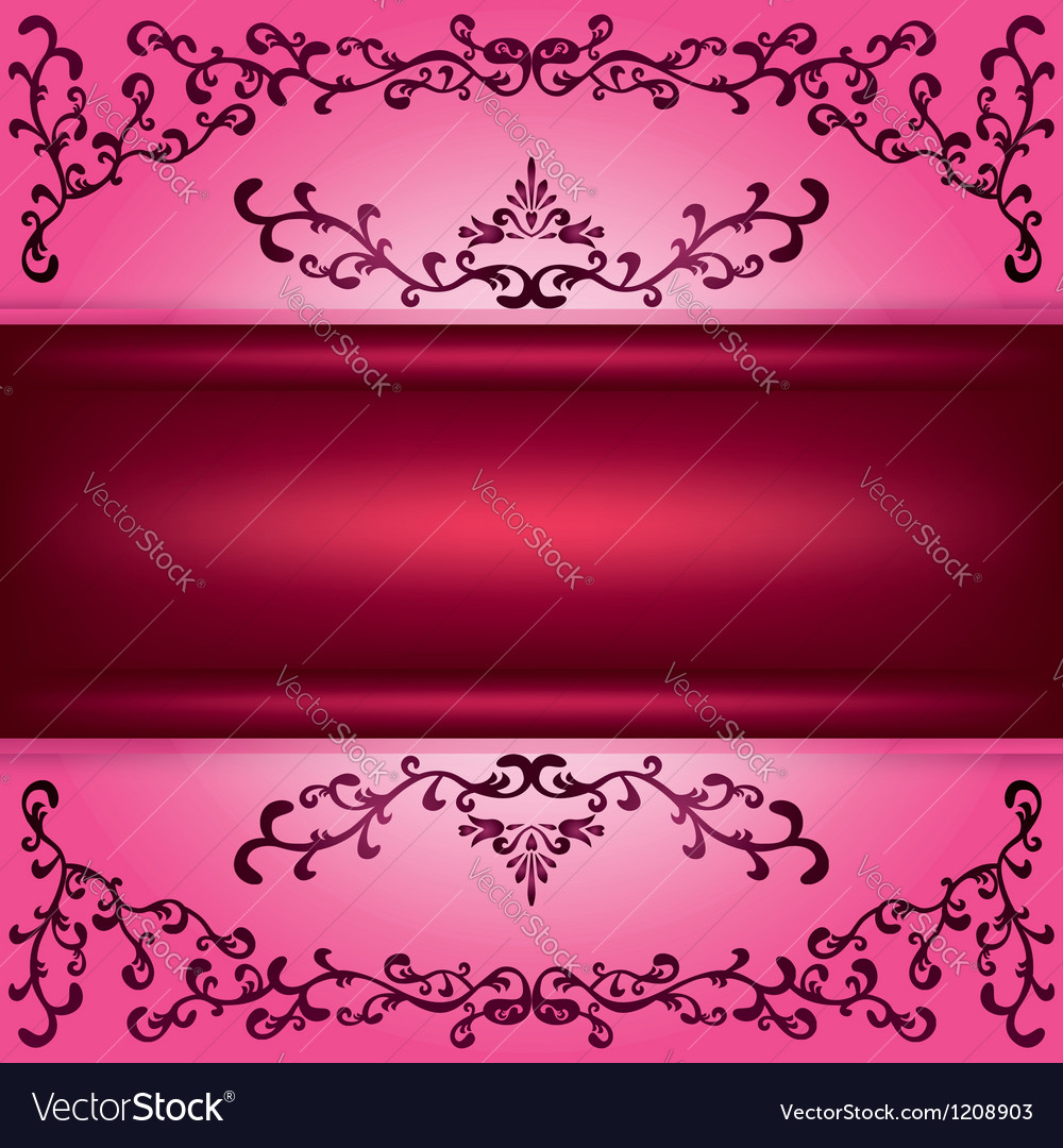 Background with decorative ornament