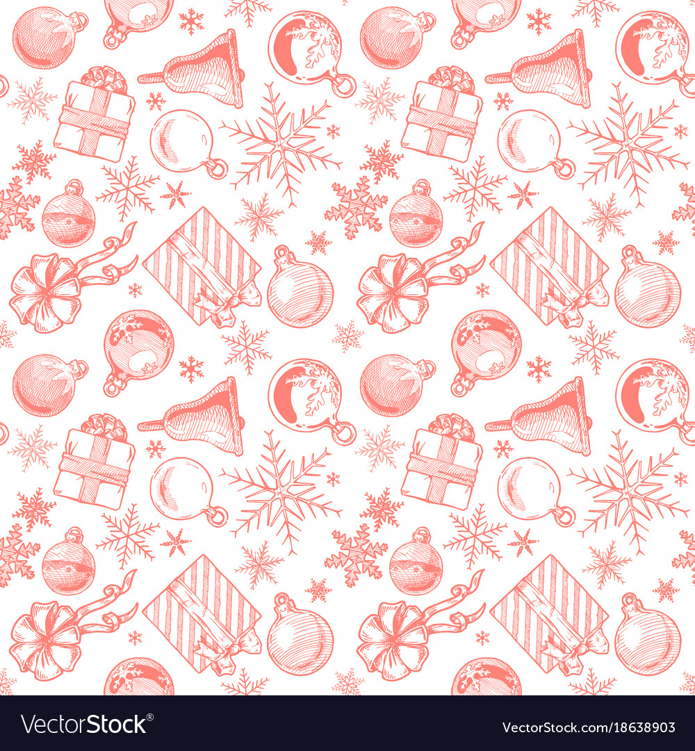 Christmas Background Seamless Tiling
