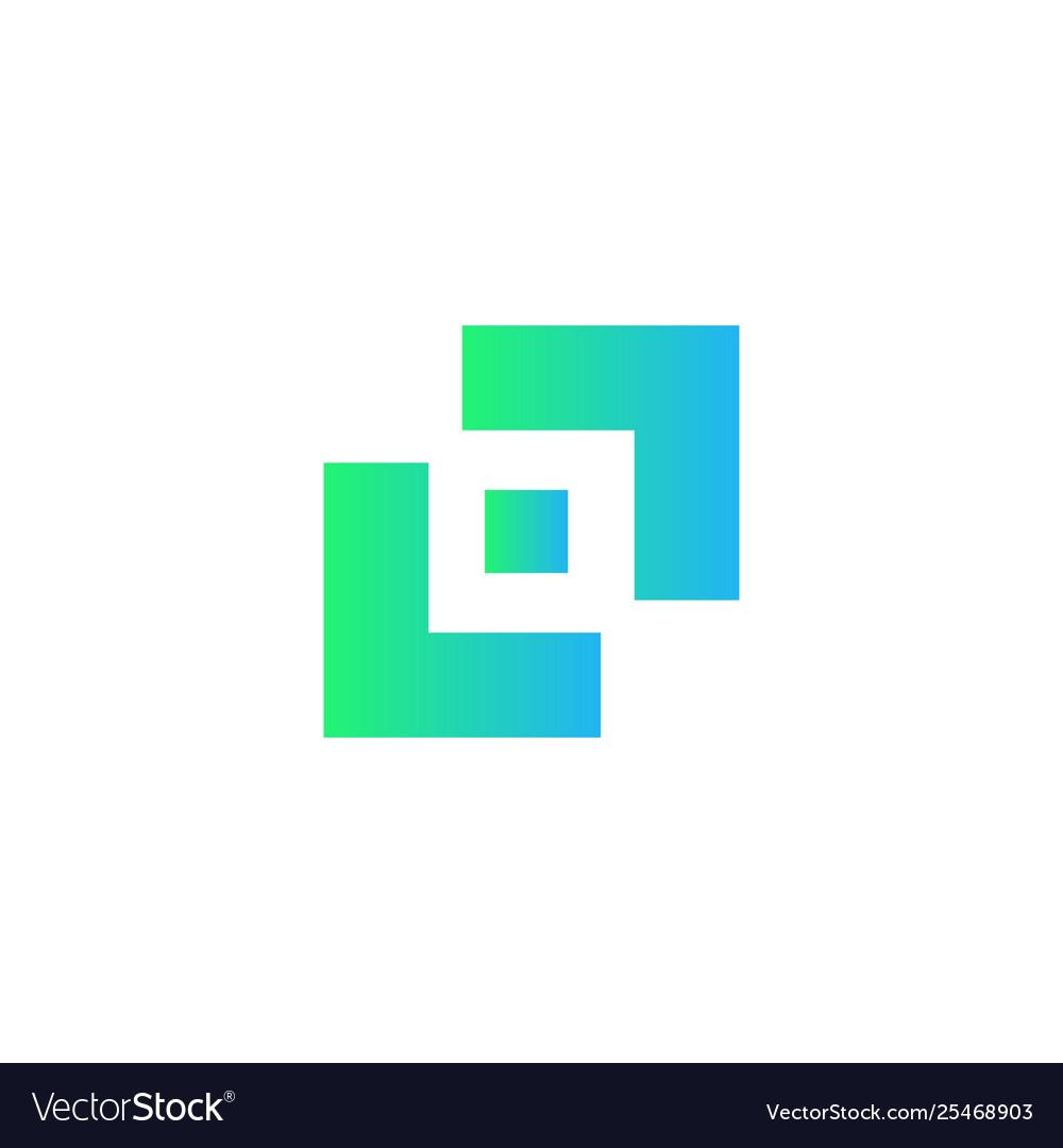 Simple photography camera logo design icon