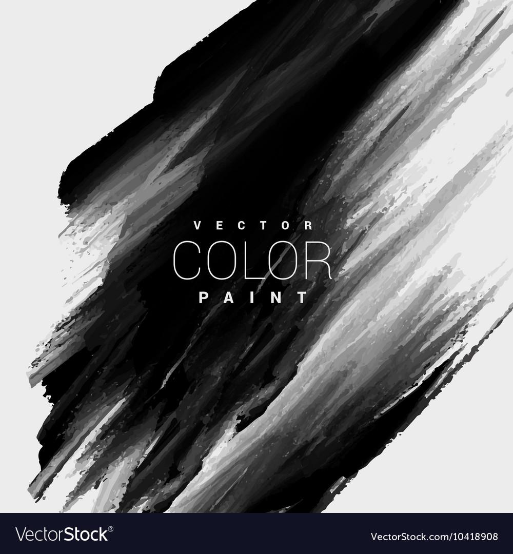 Black color paint stain background design