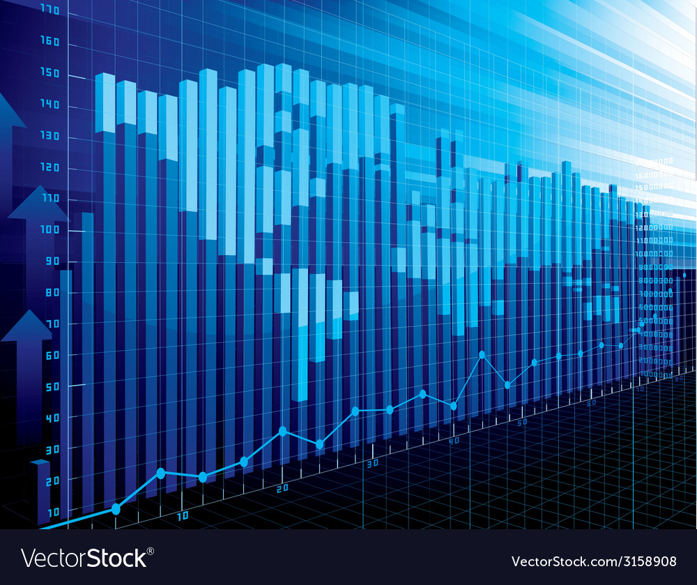 World finance concept vector image
