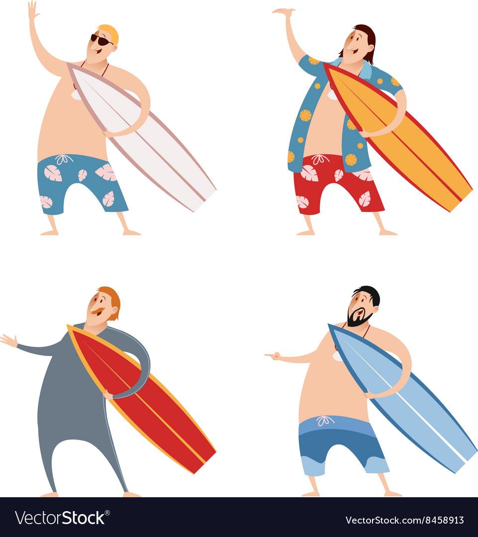 Set surfers