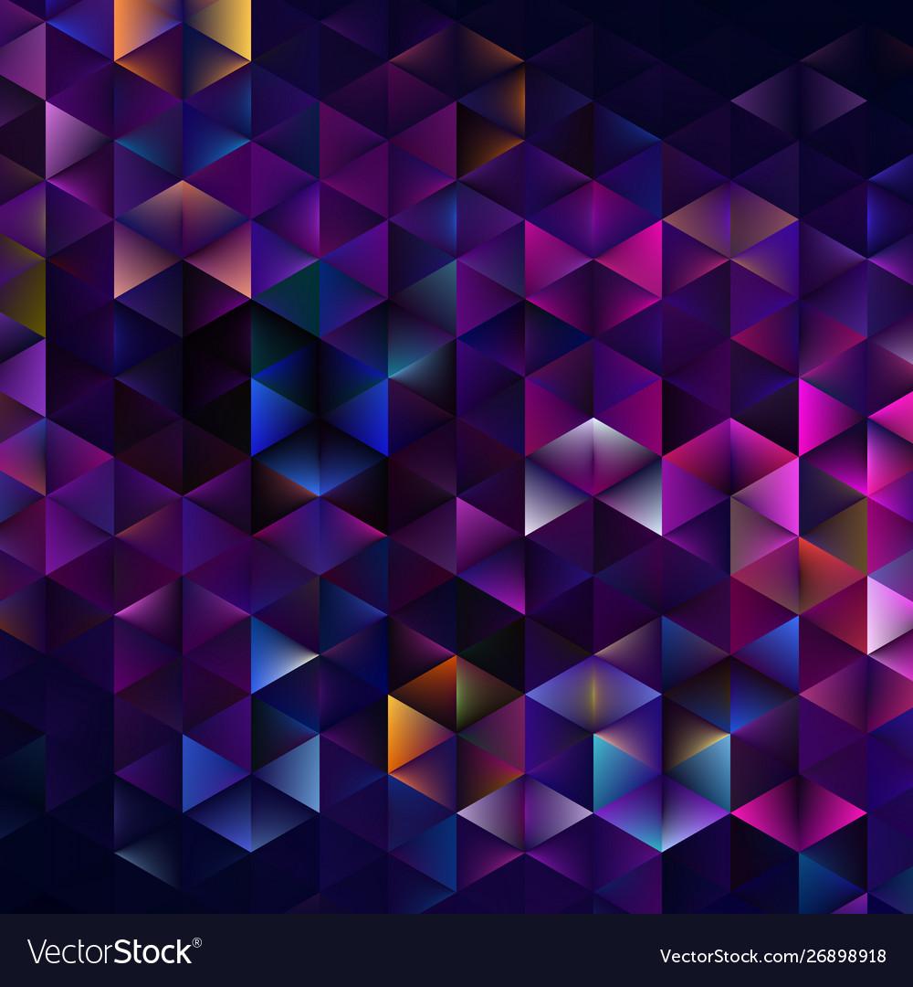 Abstract geometric triangular pattern