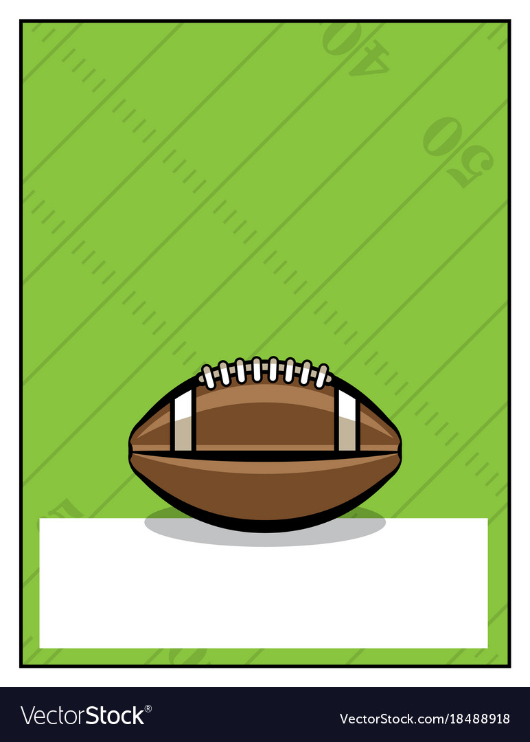 Fantasy Football Poster Vector Images 52